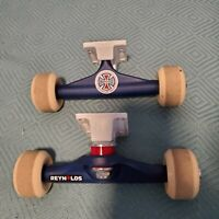 Independent Skateboard Trucks (8.0) LIGHT USE W/ Jaws Wheels, RARE
