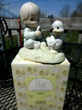 "Precious Moments 526150 ""Friends to the Very End"" 1993 Stored in Original Box"