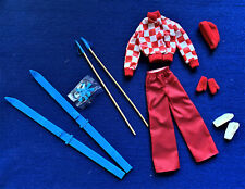 Vintage Barbie 1974 Gets Ups 'N Go Fashion #7787 Skiing  JUST TAKEN OUT OF BOX!!
