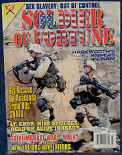Magazine SOLDIER OF FORTUNE July 2002 Accuracy International AW .308 Win. RIFLE