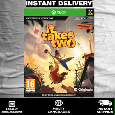 It takes two XBOX (READ DESCRIPTION)