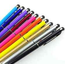 10pcs Lot 2 in1 Touch Screen Stylus Ballpoint Pen for Cell Phones Tablet Android