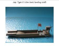 MGM 060-065 1/72 Resin WWII Japanese Type E 15m Tank Landing Craft