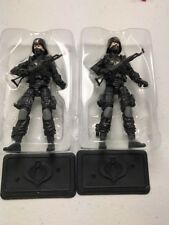 GI Joe Cobra Retaliation Figure Lot 2012 Dollar General Cobra Trooper x2
