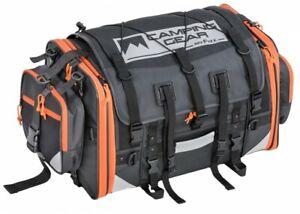 TANAX Motofizz Campeggio Sedile Borsa 2 (Active Arancio) Capacità 59-75L MFK-254