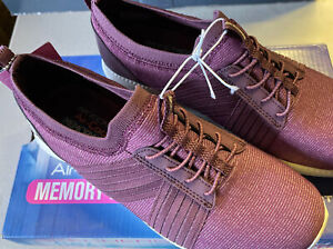 Skechers Flex City Pro Easy Moving Shoes Air Cooled Memory Foam Sz 8.5 NIB