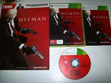 Hitman Absolution Limited Edition With Book Great Xbox 360 Game and Book