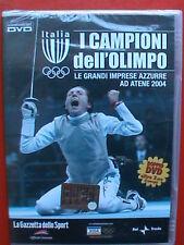 2 dvd olimpiadi atene 2004 chechi valentina vezzali fioretto sciabola scherma gq
