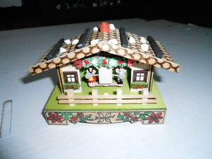 NOS Vintage GERMAN Bambi BAROMETER WEATHER HOUSE BOX #47 w/box (S6)