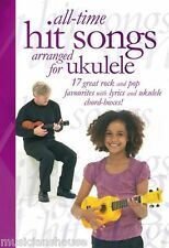 Ukulele ALL TIME HIT SONGS Music Book Learn To Play POP EASY PLAY BEGINNER