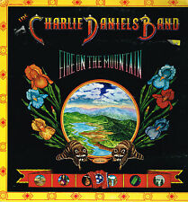 """LP 12"""" 30cms: the Charlie Daniels Band: fire on the mountain. kama sutra"""
