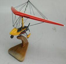Quantum 15-912 UK Pegasus Ultralight Trike Airplane Mahogany Wood Model Small