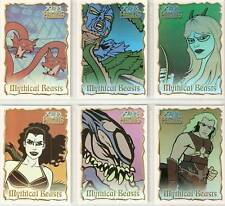 Hercules Xena Mythical Beasts 6-card insert set by John Czop B1 B2 B3 B4 B5 B6
