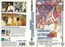 (VHS) Sindbads gefährliche Abenteuer - John Phillip Law, Caroline Munro (1974)