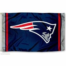 NEW ENGLAND PATRIOTS FLAG 3'X5' NFL TEAM LOGO BANNER: FREE SHIPPING