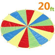 Paracadute Ludico Arcobaleno da gioco Diametro Set Festa per Bambini 'con (W5Z)