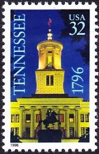 US - 1996 - 32 Cents Tennessee Statehood Bicentennial Issue # 3070 Mint NH F-VF