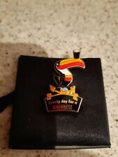 More details for millennium collectables limited edition metal guinness toucan pin badge.