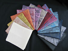 Choose any 3 X Paisley Silk Satin Pocket Square-Handkerchief,Hankies-ONLY £9.99