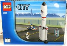 LEGO City 3368 Space Center With Rocket 100% Complete With Instructions