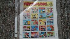 Comic strip classics postage stamps 32 cents