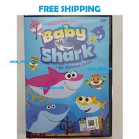 Pinkfong Baby Shark Video Song 1 DVD + 53 Children Kids Songs (English Version)