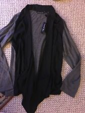 INC International Concepts sweater cardigan ipen front L