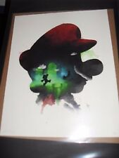 Mario Bros. GICLEE PRINT BY BRUCE YAN 50 ONLY *SOLD OUT*   xx//20