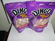 Dingo Rawhide Mini Bones, 28 Count - 2 bags 14 ct each