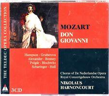 Mozart : Don Giovanni 3-CD (Harnoncourt/Hampson/Gruberova/Bonney) 1989/2009