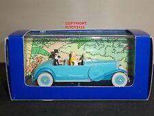 Tintin NO.5 les cigares du pharaon Comic Azul Lincoln Torpedo Grand Sports Car
