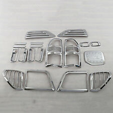 For TOYOTA  Prado 3400 LC90 1998-2002 Trim Cover Set ABS Chrome 19pcs