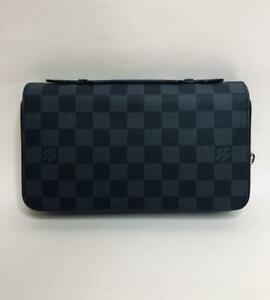 LOUIS VUITTON Damier Graphite Zippy XL Long Wallet N41503 SALE!!!