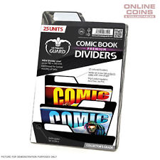Ultimate Guard PREMIUM Comic Book Dividers - BLACK