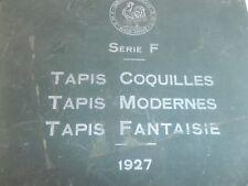 CATALOGUE DE TAPIS ART DECO / PLANCHE JAPONAISE - JAPON année 1927 ( ref 19 )