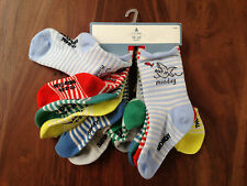 Baby GAP Unisex 12 -24M Days of the Week 7 pack Green Red Blue Nautical Striped