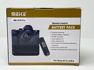 Meike MK-A711 Pro Battery Grip For Sony A711 Pro / A7R11 Pro Cameras Free Ship