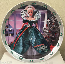 1995 Holiday Barbie Limited Edition Collector's Plate w/COA - 1995 ENESCO