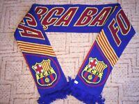 FC Barcelona FCB Spain Soccer Football Scarf Fußbal Schal Bufanda Sciarpa f8c12350421