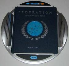 STAR TREK FEDERATION THE FIRST 150 YEARS BOOK With Display and Box Collectible