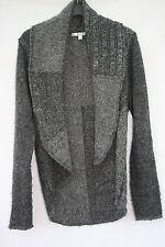 Klass Medium Size Wool Mix Grey Cardigan