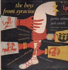 The Boys From Syracuse - 1953 studio cast - Orig Cover - LP