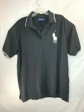 POLO RALPH LAUREN Big Pony Embroidered Short Sleeve Black, Rugby T-Shirt  2XLT