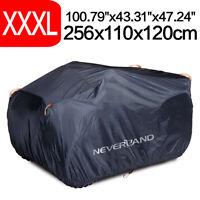 NEVERLAND XXXL Quad Bike Waterproof 4x4 ATV Cover Storage 190T 256cm Protector