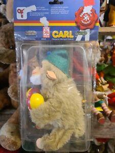 Max CARL Affe mit Rasseln, mechanisch Aufziehen, original verpackt