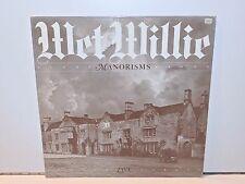 WET WILLIE - MANORISMS LIVE (AS 428) 1978 VINYL LP PROMO SAMPLER US