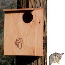 BRUSHTAIL POSSUM NESTING BOX KIT DIY Make Build Remove - Timber Wooden Design