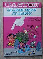 Gaston Lagaffe LE LOURD PASSE DE LAGAFFE E.O. DL Novembre 1986 TBE