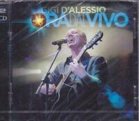 2 CD ♫ Box Set «GIGI D'ALESSIO • ORA DAL VIVO» nuovo sigillato