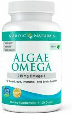 Nordic Naturals Algae Omega - Vegetarian Omega-3 Supplement 120 count